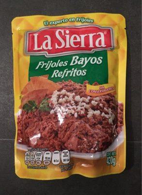 Frijoles Refritos Bayos Bolsa - Produit - fr