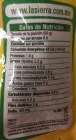 Frijoles Refritos Bayos Bolsa - Información nutricional - es