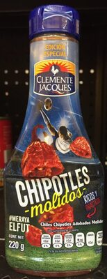Chipotles molidos botella 220 g - Producto - es
