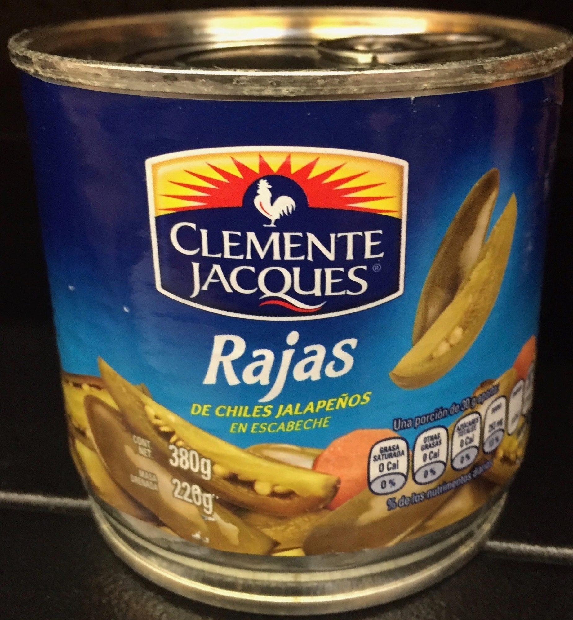 Rajas Clemente Jacques - Producto - es