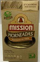Tostadas de maíz horneadas - Product - es