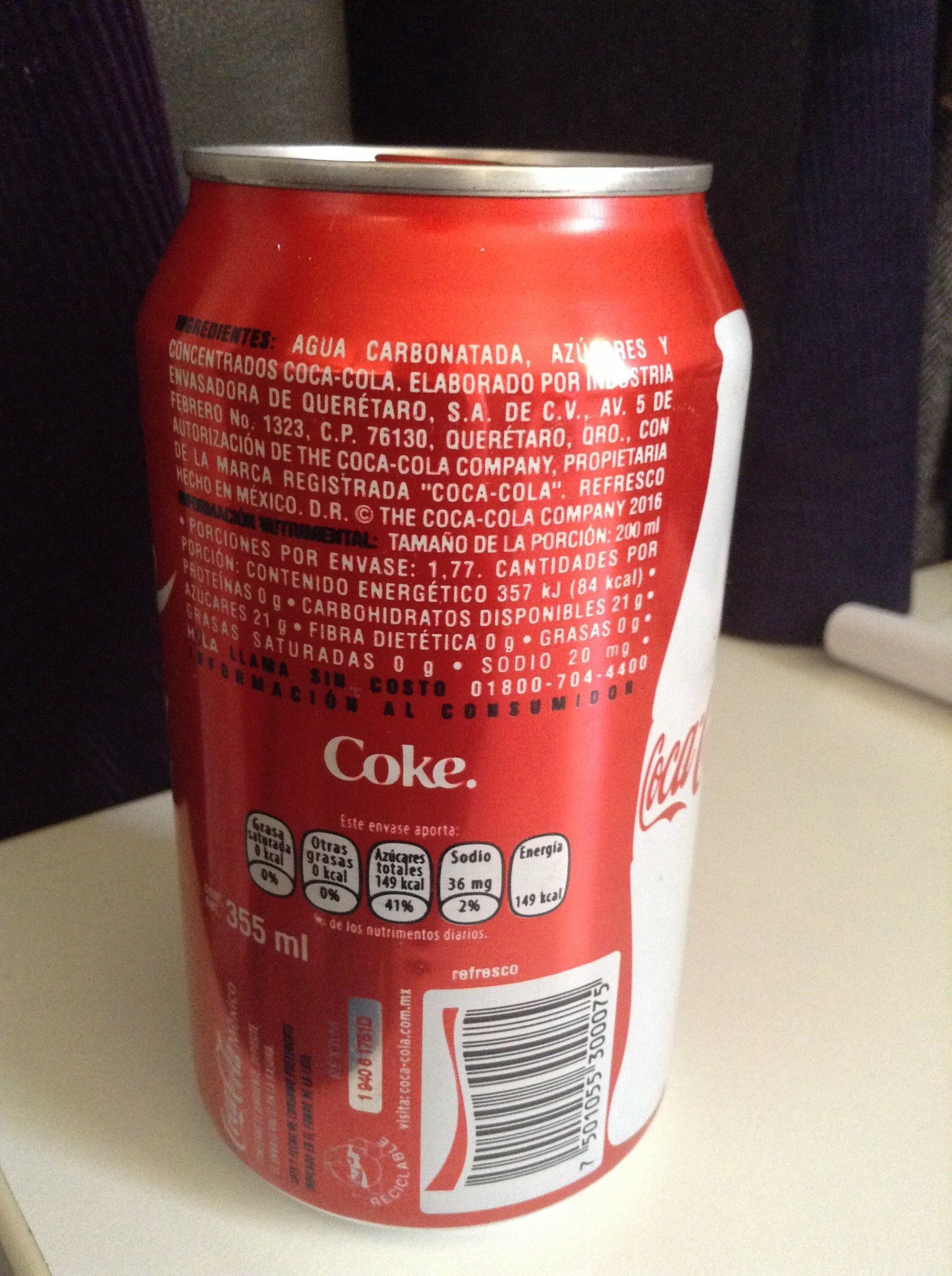Coke - Produit - fr