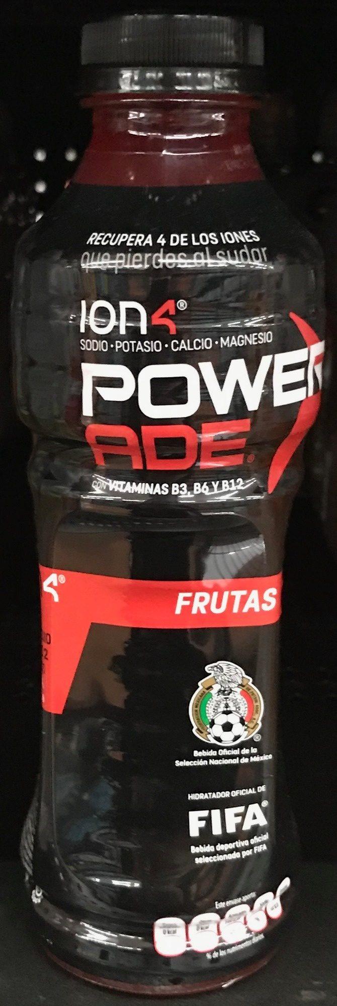 Powerade Ion 4 Frutas - Produit - es