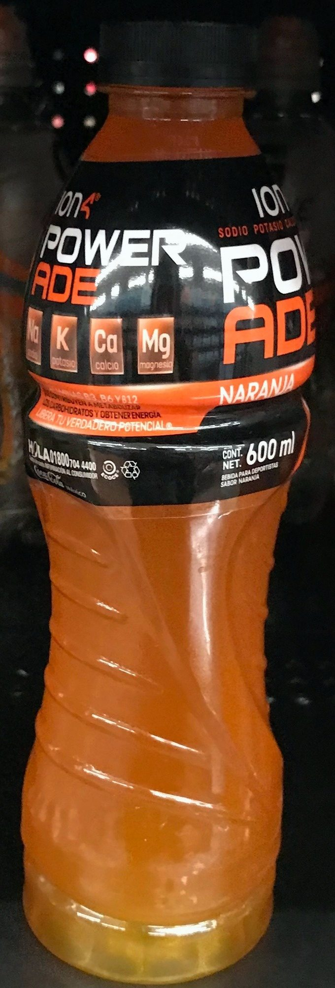 Powerade Ion 4 Naranja - Product