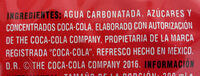 Coca-Cola sabor original - Ingredienti - es