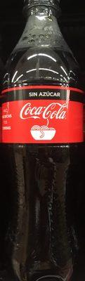 Coca cola sin azúcar - Producto