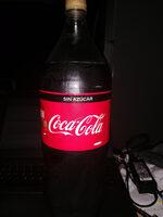 Coca Cola Sin Azúcar - Product - es