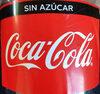 Coca-Cola sin azúcar - Producto