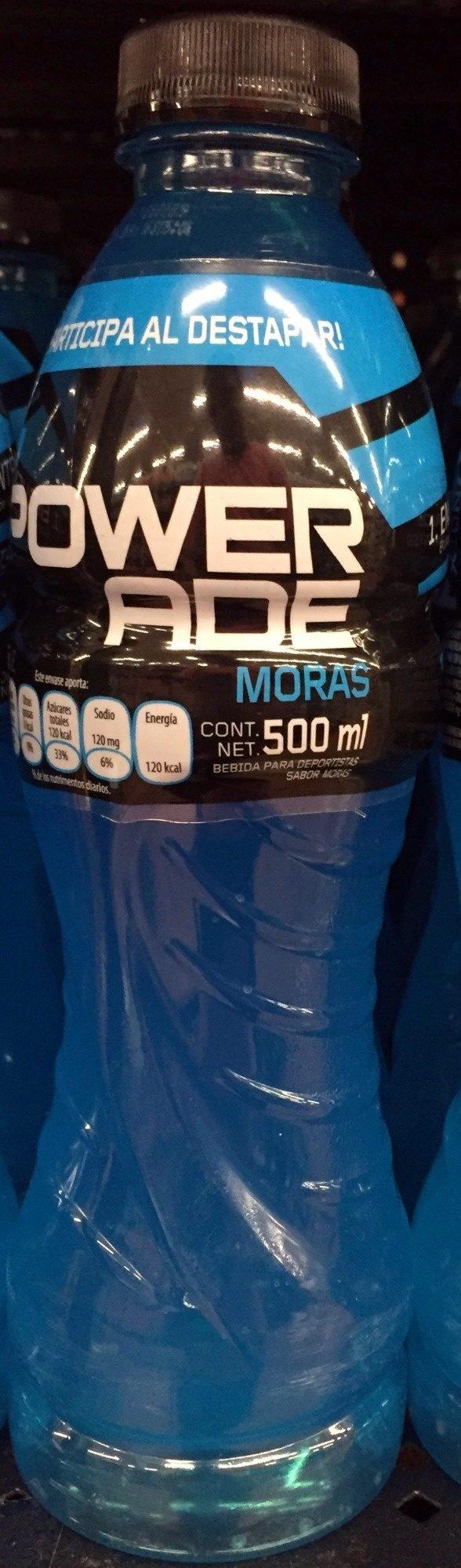 Powerade sabor Moras - Product