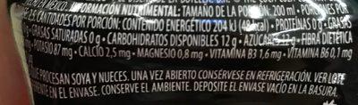 Powerade Ion 4 Ponche de Frutas - Nutrition facts - es