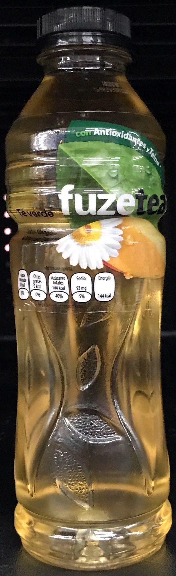 Té verde sabor mango y manzanilla - Product