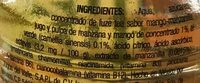 Té verde sabor mango y manzanilla - Ingrediënten