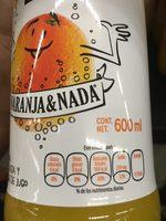 Naranja y Nada - Voedingswaarden - es