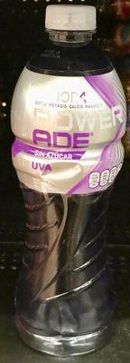 Powerade Zero Ion4 sabor uva - Produit - es