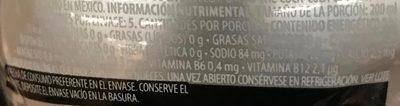 Powerade Zero Ion4 sabor uva - Informations nutritionnelles - es