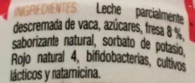 Yogurt fresa - Ingredientes - es
