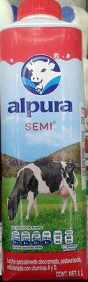 Leche Alpura semi - Producto