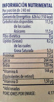 Leche Alpura clásica - Voedingswaarden - es