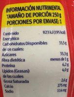 Yoghurt bebible con Fresa - Nutrition facts - es