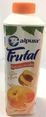 Frutal con leche y fruta sabor durazno - Producto - es