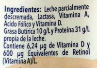 Deslactosada light - Ingredientes - es