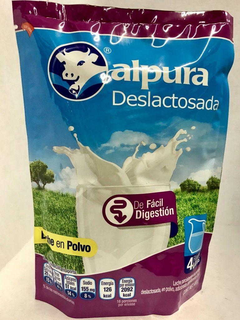 Alpura deslactosada - Produit - es
