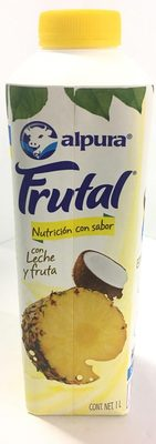 Frutal con leche y fruta sabor Piña y Coco - Produit - es
