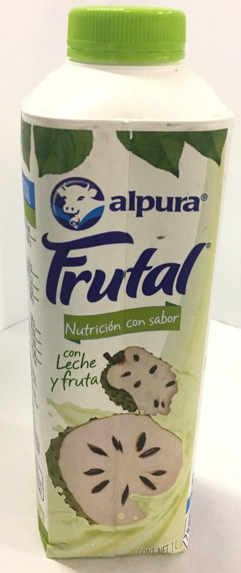 Leche Alpura Frutal sabor Guanábana - Produit - es