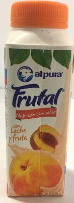 Frutal con leche y fruta sabor durazno - Produit