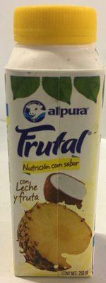 Frutal con leche y fruta sabor piña y coco - Producto