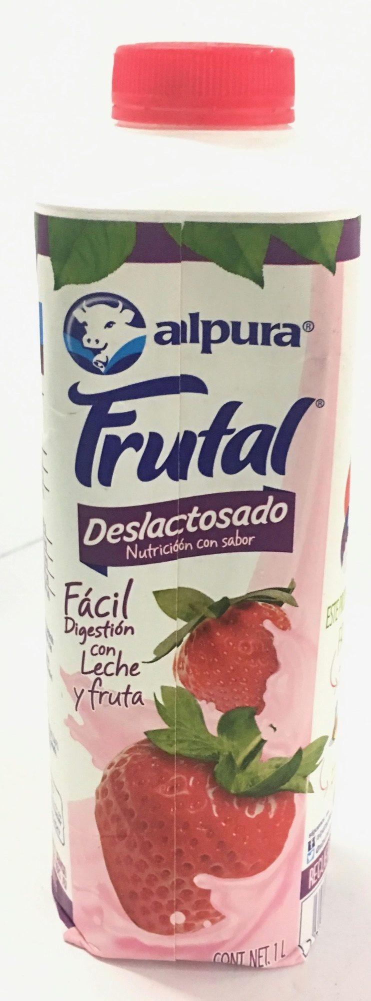 Frutal delactosado sabor fresa - Produit - es