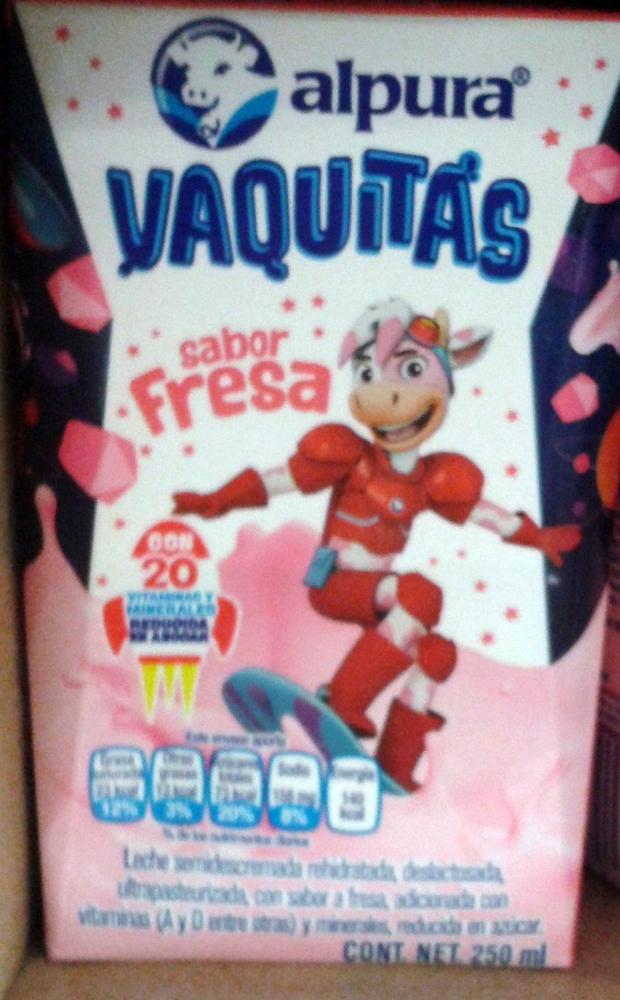 Vaquitas sabor fresa - Product
