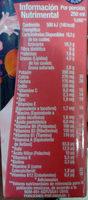 Vaquitas sabor fresa - Nutrition facts