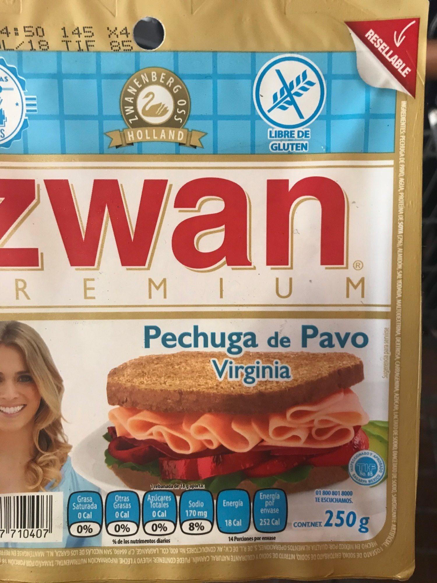 ZWAN Premium - Información nutricional