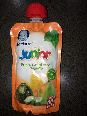 Junior Pera, Calabaza, Mango - Producto - es