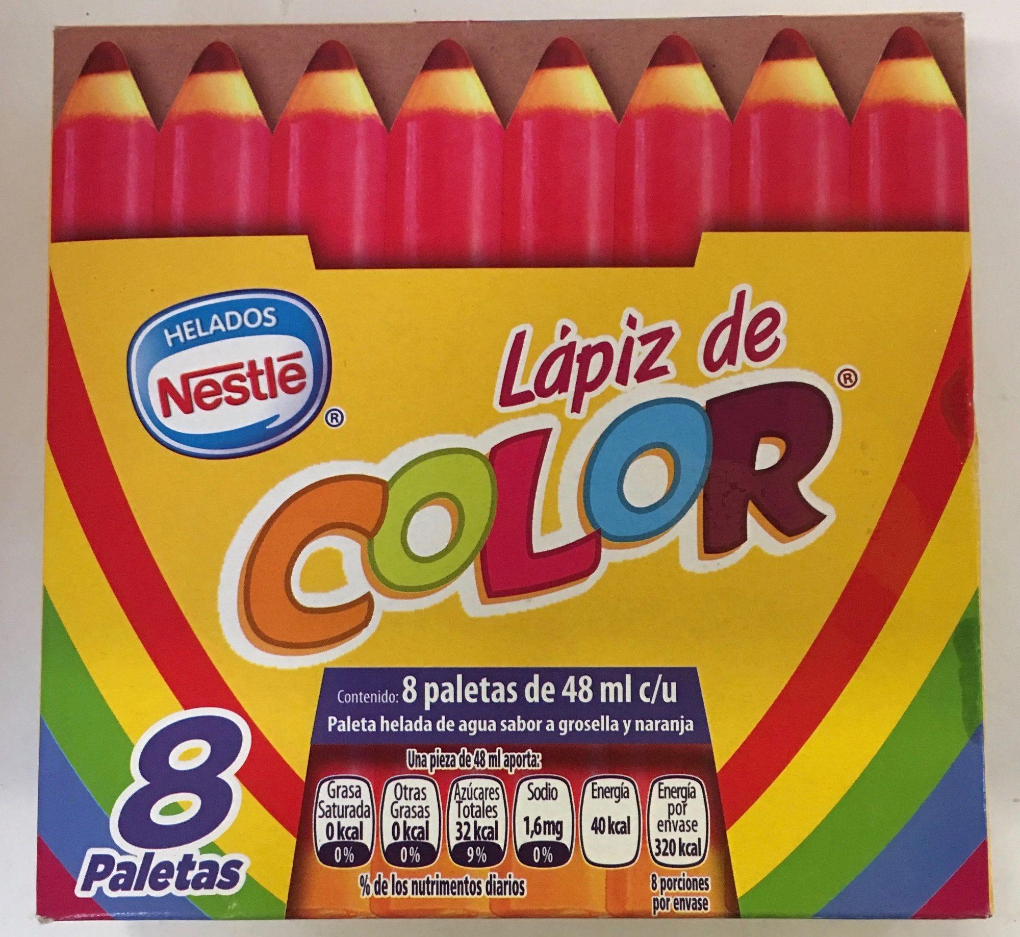 Paletas Lápiz de color Nestle - Produit - es