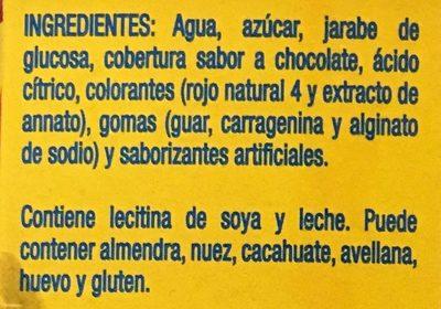 Paletas Lápiz de color Nestle - Ingrédients - es