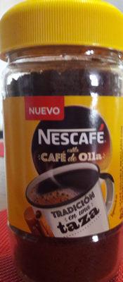 Nescafé estilo café de la olla