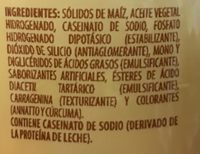 Coffee mate - Ingrediënten - es