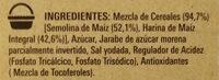 Corn flakes - Ingredientes - es