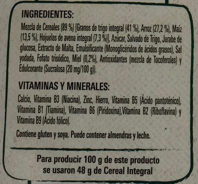 FITNESS ORIGINAL - Ingredients