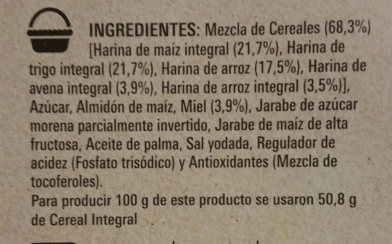 cheerios miel - Ingrédients - es