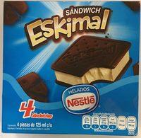 Sandwich Eskimal de Nestle - Produit - es