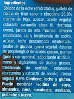 Sandwich Eskimal de Nestle - Ingrédients - es