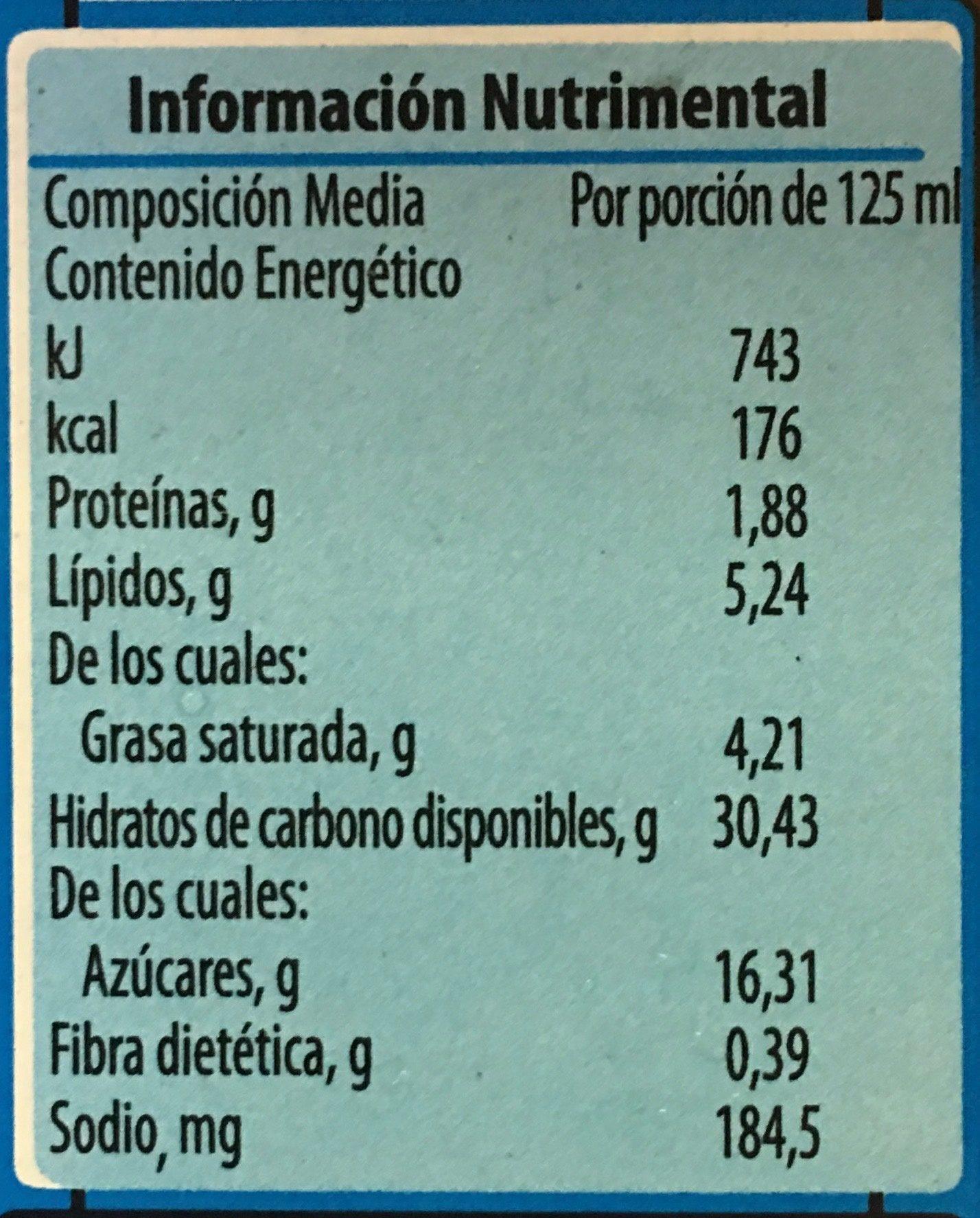 Sandwich Eskimal de Nestle - Informations nutritionnelles - es