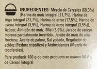 Cheerios Miel - Ingredientes