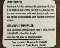 CHEERIOS 4 GRANOS - Ingredients