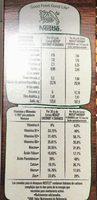 CHEERIOS 4 GRANOS - Nutrition facts