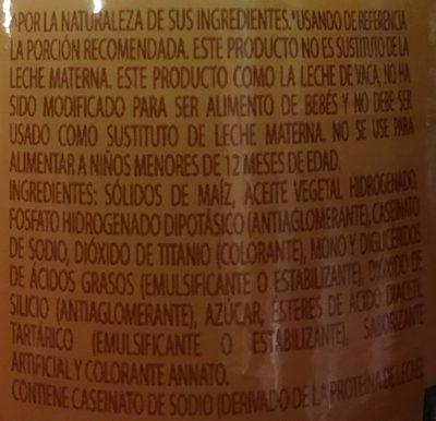 Coffee Mate Lite - Ingrediënten - es