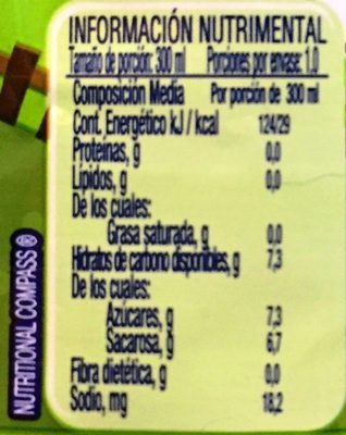 aguitas - Nutrition facts - es
